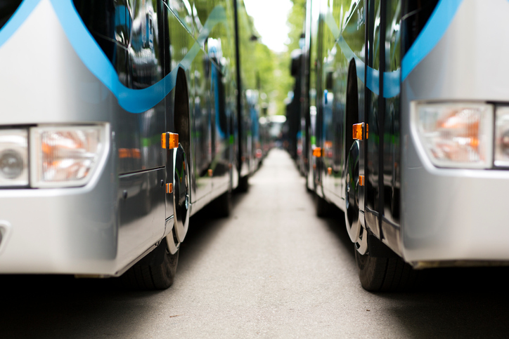 Airport shuttles & buses