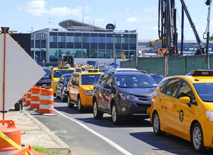 LaGuardia airport construction update, New York