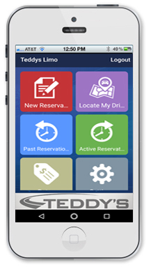 teddy's phone app