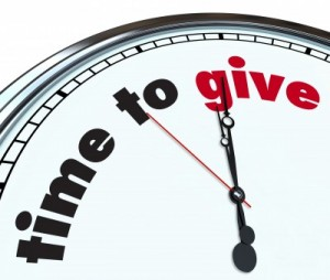 The time to give