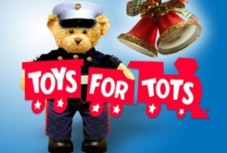 Teddy's partners with Toys for Tots